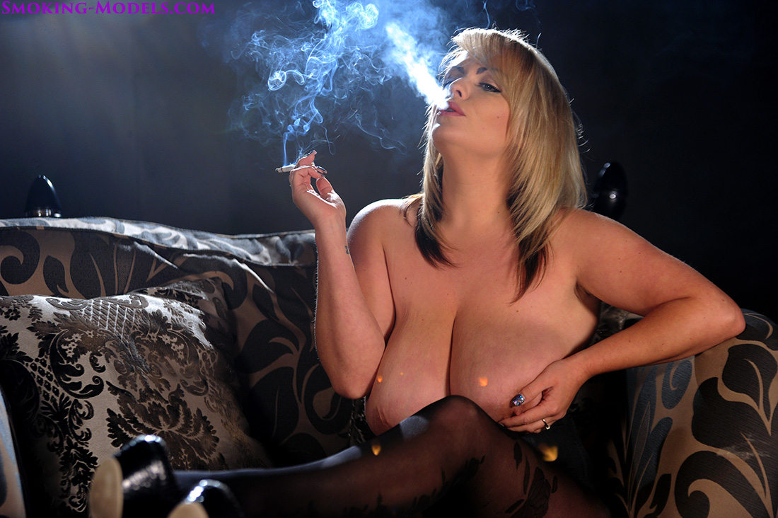 Sexy nylons and cigarettes 7